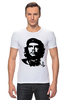 "Футболка Стрэйч (Мужская) ""Viva la revolucion!"" - че, че гевара, che, революционер, che guevara"