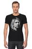 "Футболка Стрэйч (Мужская) ""Kurt Cobain"" - nirvana, рок, kurt cobain, курт кобейн, нирвана"