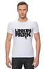 "Футболка Стрэйч (Мужская) ""Linkin Park logo"""