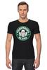 """Футболка Стрэйч """"Heisenberg blend"""" - кофе, во все тяжкие, breaking bad, heisenberg"""