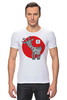 "Футболка Стрэйч ""Символ 2015"" - новый год, символ, 2015, коза, goat"