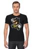 "Футболка Стрэйч ""Супер Марио"" - batman, супергерой, денди, супер марио, super mario bros"
