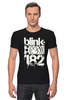 "Футболка Стрэйч ""blink-182 smile shirt"" - blink-182, ava, blink182, angels and airwaves"