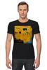 """Футболка Стрэйч """"Basquiat"""" - граффити, корона, basquiat, баския, жан-мишель баския"""