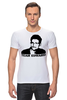 "Футболка Стрэйч ""Edward Snowden"" - edward snowden, америка, россия, цру, эдвард сноуден"