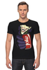 "Футболка Стрэйч ""Джокер"" - joker, комиксы, batman, джокер, бэтмен"
