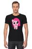 """Футболка Стрэйч (Мужская) """"Мой маленький пони"""" - mlp, my little pony, friendship is magic, мой маленький пони"""