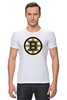 "Футболка Стрэйч (Мужская) ""Boston Bruins"" - медведь, хоккей, nhl, бостон, boston bruins"