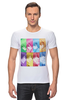 """Футболка Стрэйч (Мужская) """"Идзуми Сэна и Итидзё Рёма"""" - аниме, манга, персонажи из аниме, любовная сцена, сёнэн-ай"""