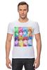 "Футболка Стрэйч ""Идзуми Сэна и Итидзё Рёма"" - аниме, манга, персонажи из аниме, любовная сцена, сёнэн-ай"
