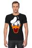 """Футболка Стрэйч """"Дональд Дак (Donald Duck)"""" - мультфильм, ретро, donald duck, дональд дак"""