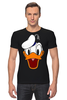 "Футболка Стрэйч (Мужская) ""Дональд Дак (Donald Duck)"" - мультфильм, ретро, donald duck, дональд дак"