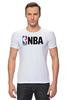 "Футболка Стрэйч ""National Basketball Association"" - баскетбол, nba, нба"