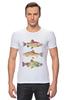 """Футболка Стрэйч """"Рыбки"""" - рыбы, рыбки, fish"""