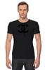 "Футболка Стрэйч ""Chanel"" - духи, бренд, fashion, коко шанель, brand, coco chanel, шанель, perfume, karl lagerfeld, карл лагерфельд"