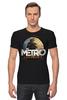 "Футболка Стрэйч (Мужская) ""метро"" - metro, metro 2033"
