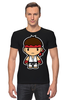 "Футболка Стрэйч ""Ryu (Street Fighter)"" - файтинг, уличный боец, street fighter, ryu"