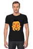 """Футболка Стрэйч """"Борода V"""" - борода, усы, beard, mustache"""