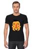 "Футболка Стрэйч (Мужская) ""Борода V"" - борода, усы, beard, mustache"