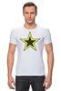 "Футболка Стрэйч ""Starman"" - star, звезда, stars, звёзды, starman"