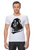"""Футболка Стрэйч """"Darth Vader"""" - star wars, darth vader, дарт вейдер, звёздные войны, father"""