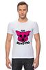 """Футболка Стрэйч (Мужская) """"The Blind Pig #2"""" - прикол, супер, рисунок, pink, новое, свинья, blind, слепой, pig"""