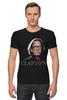 "Футболка Стрэйч ""Clapton"" - хард-рок, блюз, eric clapton, эрик клэптон, медленная рука, slowhand"