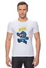 """Футболка Стрэйч (Мужская) """"Super Mario (Mega Man)"""" - nintendo, марио, mario bros"""