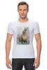 """Футболка Стрэйч """"Зайка"""" - заяц, кролик, зайчик"""