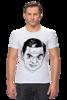 """Футболка Стрэйч (Мужская) """"футболка """"Мистер Бин"""""""" - прикол, портрет, мистер бин"""
