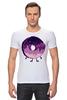 """Футболка Стрэйч (Мужская) """"Космический Пончик (Space Donut)"""" - пончик, donut, космический пончик, space donut"""
