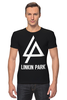"Футболка Стрэйч (Мужская) ""Linkin Park"" - linkin park, линкин парк"