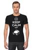 "Футболка Стрэйч (Мужская) ""Keep Calm and Zzz (Pokemon)"" - pokemon, покемон, keep calm, сохраняй спокойствие и спи"