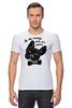 """Футболка Стрэйч """"Французский бульдог"""" - юмор, надпись, french bulldog, бульдог, французский бульдог"""