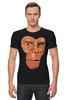 """Футболка Стрэйч (Мужская) """"Обезьяна (Планета Обезьян)"""" - планета обезьян, planet of the apes"""