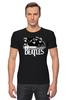 """Футболка Стрэйч (Мужская) """"the beatles"""" - the beatles, битлы, битлз, uk, fab four, великолепная четвёрка, ливерпульская четвёрка"""
