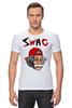 "Футболка Стрэйч (Мужская) ""Art Swag"" - style, swag, свэг, эйнштейн, einstein"