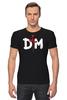 "Футболка Стрэйч (Мужская) ""Depeche Mode"" - depeche mode, депеш мод, dm, martin lee gore, david gahan"