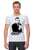 "Футболка Стрэйч (Мужская) ""James Bond"" - james bond, агент 007, шон коннери, джеймс бонд, sean connery"
