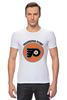 "Футболка Стрэйч (Мужская) ""Philadelphia Flyers"" - хоккей, nhl, нхл, филадельфия флайерз, philadelphia flyers"