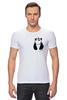 """Футболка Стрэйч (Мужская) """"Панда в Кармане"""" - панда, panda, карман"""