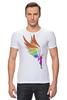 """Футболка Стрэйч (Мужская) """"Mozart L`opera Rock """" - арт, авторские майки, wings, рисунок, color"""