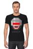 """Футболка Стрэйч (Мужская) """"Robocop 8-bit"""" - робот, 8 бит, полицейский, робокоп"""