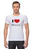 "Футболка Стрэйч (Мужская) ""i love House"" - сердце, любовь, сердечко, house, хаус, доктор, креативные надписи на футболках, i love"