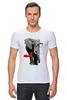"""Футболка Стрэйч (Мужская) """" Классный Слон"""" - слон, слоник, африканский слон, индийский слон"""