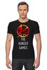 """Футболка Стрэйч (Мужская) """"Голодные Игры (The Hunger Games)"""" - голодные игры, the hunger games"""