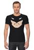 """Футболка Стрэйч """"Бэтмен"""" - batman, супергерои, бэтмен, dc"""