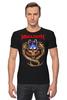 "Футболка Стрэйч (Мужская) ""Megadeth"" - heavy metal, хэви метал, thrash, megadeth, мегадет"