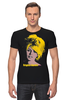 "Футболка Стрэйч (Мужская) ""Brigitte Bardot "" - кино, актриса, брижит бардо, brigitte bardot"