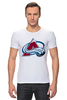 "Футболка Стрэйч (Мужская) ""Colorado Avalanche"" - nhl, нхл, colorado avalanche"